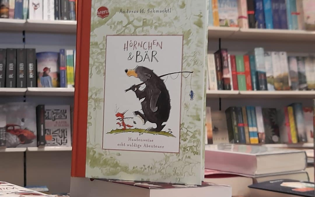 Hörnchen & Bär von Andreas H. Schmachtl